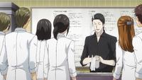Azami teaches a class