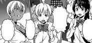 Ikumi Megumi and Yuki worry for Soma