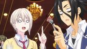 Ryo y Alice disfrutan del banquete Anime HD