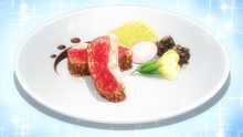 White Amour Plate - Sauce Chevreuil (Anime Ver)