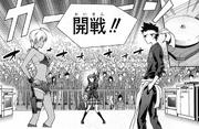 Shokugeki entre Soma y Nikumi Manga HD