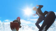Snow Riders Rindo and Eishi