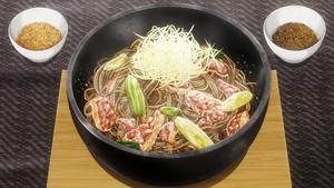 Yukihira Style Barley Flour Soba (Anime)