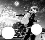 Asahi telling Sōma to reach the Heaven's Keep.