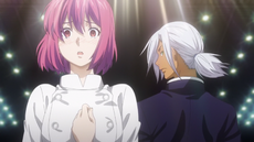 Hisako criticised by Akira (anime)