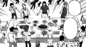 Joichiro presents a feast to Polar Star