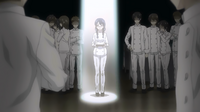 Megumi gets criticism (anime)