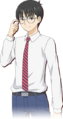 3DS Zenji Marui School Uniform.png