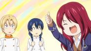 Rindo passes Takumi & Megumi