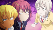 Ikumi, Hisako, Alice