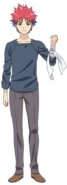 Soma Yukihira full appearance 2