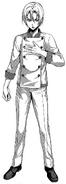 Takumi Aldini ganzer Körper