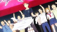 Sōma reopens Restaurant Yukihara (anime)