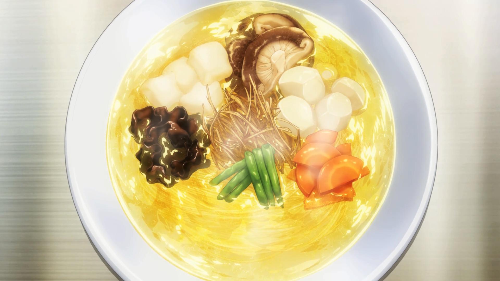 Kozuyu Chicken Soy Sauce Ramen | Shokugeki no Soma Wiki
