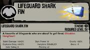 Back - Lifeguard Sharkfin
