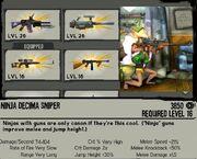 Ninja decima sniper