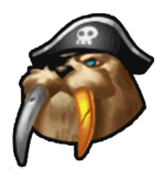 Pirate Walrus