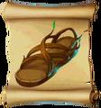 Footwear Druidic Shoes Blueprint.png