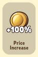 Price Increase +100%