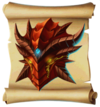 Shields Dragon Skull Blueprint