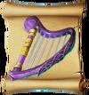 Music Frostfire Harp Blueprint