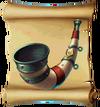 Music Ancient Horn Blueprint