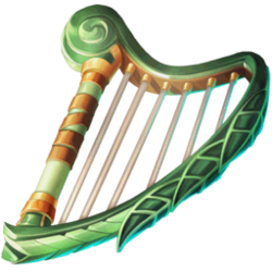 Music Soothing Harp