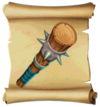 Maces Spiked Club Blueprint