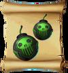 Projectiles Toxic Bomb Blueprint