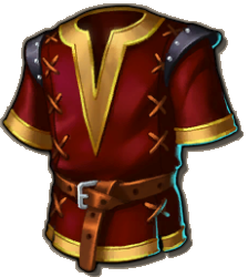 Clothes Red Tunic