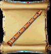 Music Wood Flute Blueprint