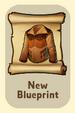 ItemBlueprintUnlockedCow Hide Vest