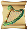 Music Soothing Harp Blueprint