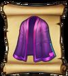 Clothes Heart Robe Blueprint