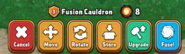 Fusion Menu of Basic Cauldron