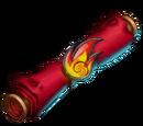 Fireball Scroll
