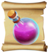 Potions Love Splash Blueprint