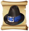 Hats Buckle Hat Blueprint
