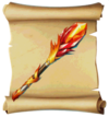 Staves Fire Rod Blueprint