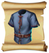 Clothes Tunic Blueprint