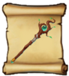 Staves Sprout Staff Blueprint