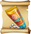 Potions Elven Sunblock Blueprint