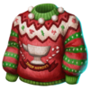 Clothes Ugly Sweater Blueprint