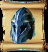 Helmets Frostfire Barbuta Blueprint