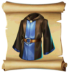 Clothes Robe Blueprint