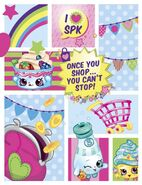 I Love Shopkins Collage