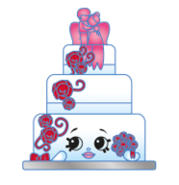 Wendy Wedding Cake 3-008