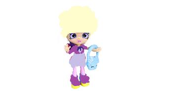 Kalhty cake doll