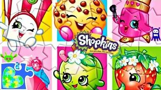 8 SHOPKINS SEASON 6 PUZZLE FOR KIDS! Rompecabezas de Shopkins!