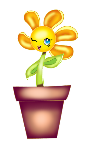 File:Flora Flower Artwork Style.png